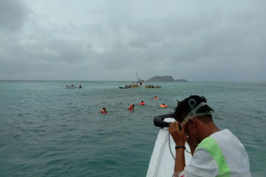 Tabrak karang, KM Jabal Nur tenggelam di perairan Manggarai Barat