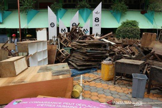SMAN 8 Jakarta efektif belajar pascabanjir
