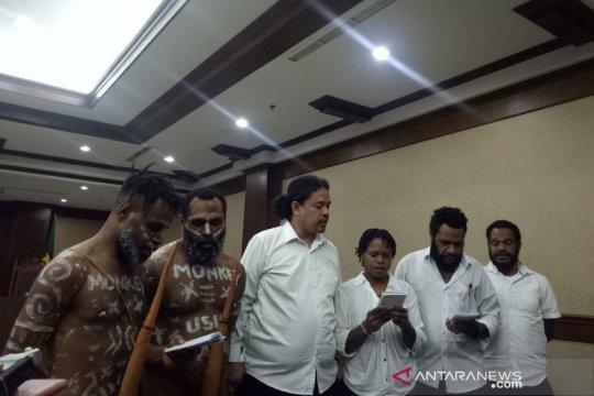 Aktivis Papua Dano Tabuni tetap akan pakai koteka dalam persidangan