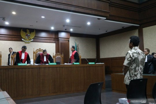 Jaksa KPK minta perampasan uang yang disita dari ruangan Lukman Hakim