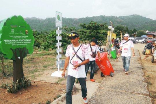 Kampanye anti sampah Perum Jamkrindo di Geopark Ciletuh, diapresiasi