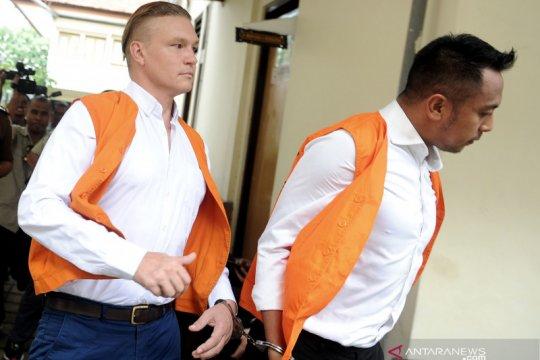 Vonis WN Australia tersangkut kasus narkoba di Bali