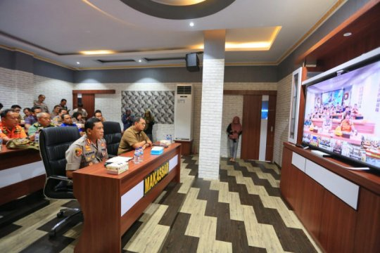 Polri-Pemkot Makassar koordinasi penanganan bencana