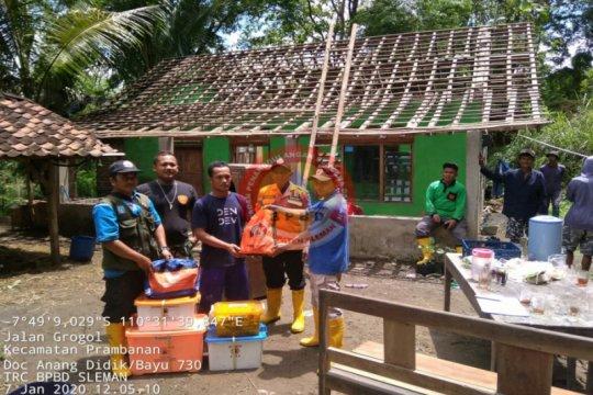 Satu rumah warga di Prambanan rusak akibat pergerakan tanah