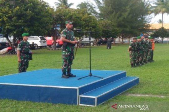 TNI menggelar pasukan operasi pengamanan kunjungan Presiden ke Natuna