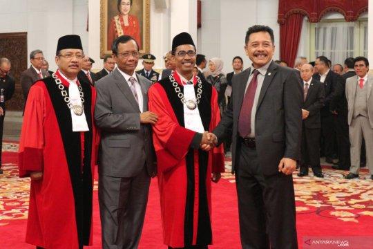 Hakim Konstitusi Suhartoyo berjanji imparsial-independen