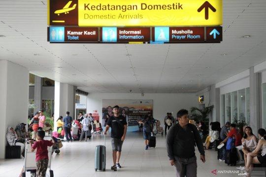 1,4 juta penumpang lalui Bandara Ngurah Rai selama Natal-Tahun Baru