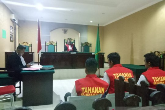 Terdakwa penjual amunisi dituntut hukuman penjara enam tahun