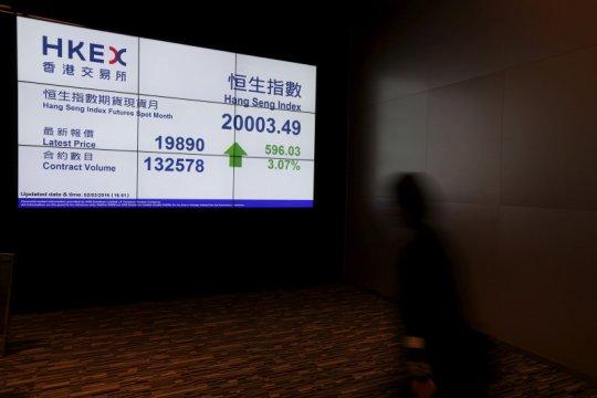Saham Hong Kong dibuka lebih tinggi, indeks HSI terkerek 0,51 persen