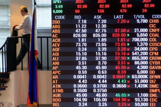 Saham Filipina melonjak 3 hari beruntun, Indeks PSE naik 2,71 persen