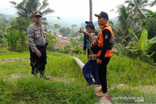 Pergerakan tanah di Cibadak Cianjur meluas warga diimbau mengungsi