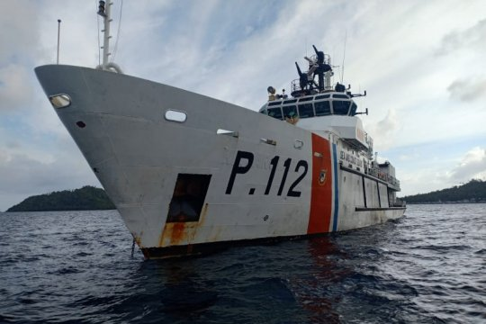 Kemenhub kerahkan dua kapal patroli amankan Natuna