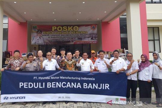 HMMI serahkan bantuan logistik banjir Bekasi