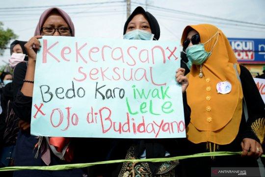 Kekerasan pada perempuan-anak di Kabupaten calon ibu kota masih tinggi