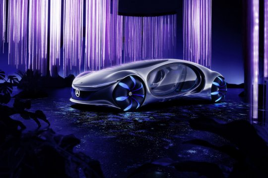 "Mobil otonom Mercedes-Benz di CES 2020, terinspirasi dari ""Avatar"""