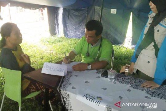 Banyak korban longsor Sukajaya mengeluh gatal di Posko Kesehatan PLN