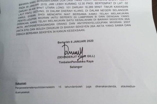 WNI 60 tahun divonis 10 tahun penjara di Malaysia