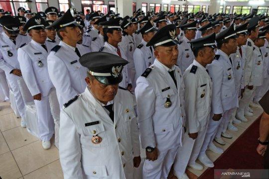 Pelantikan massal Kepala Desa se-kabupaten Magelang