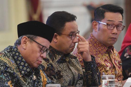 Bahas banjir, Presiden Jokowi panggil Anies Baswedan dan Ridwan Kamil