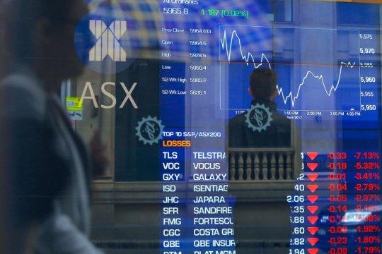 Saham Aussie dibuka sedikit melemah terseret penambang dan teknologi