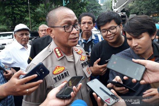 Polisi periksa tujuh saksi gedung roboh di Slipi