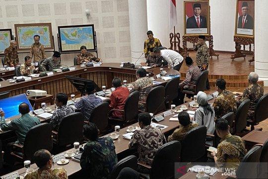 Wapres Ma'ruf pimpin rapat pelaksanaan jaminan produk halal