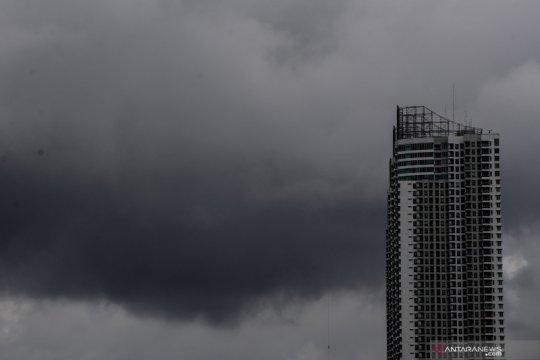 Hujan diprediksi guyur Jakarta pada Rabu siang
