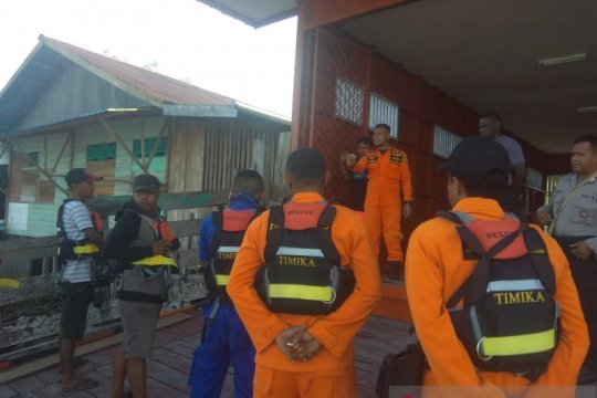 2 penumpang perahu yang tenggelam di Muara Bokap belum ditemukan
