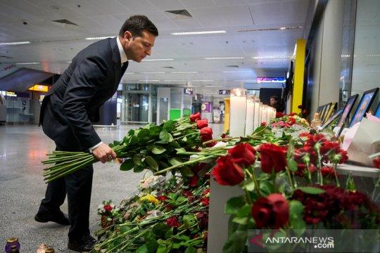 Presiden Ukraina harapkan penyelidikan penuh, kompensasi dari Iran