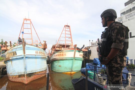 Menteri Edhy: Kapal pencuri ikan lebih baik untuk edukasi
