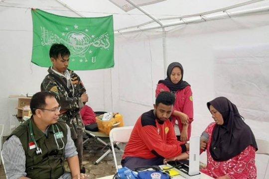 NU Peduli Lebak dirikan posko kesehatan di lokasi terisolasi bencana