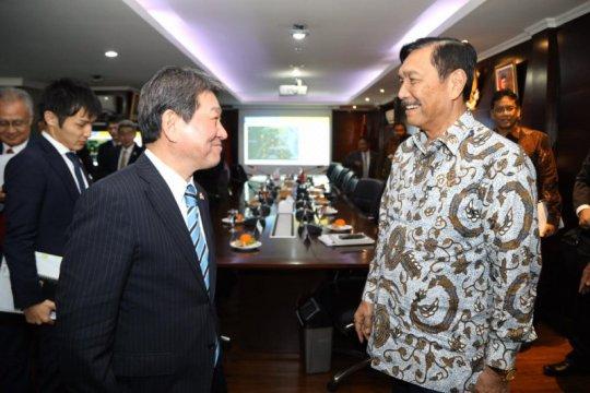 Bertemu Menlu Toshimitsu, Luhut bahas investasi Jepang di RI