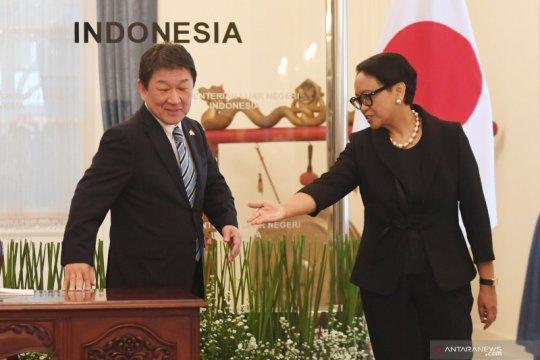 Pertemuan 2+2 Indonesia-Jepang dilaksanakan tahun ini