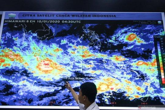 Jakarta berpotensi hujan lebat pada Rabu dini hari