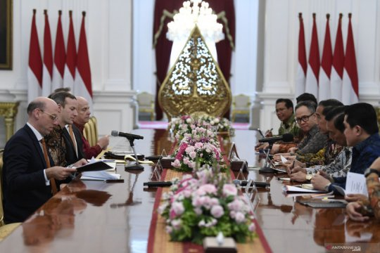 Lembaga keuangan AS minati kerja sama empat bidang di Indonesia
