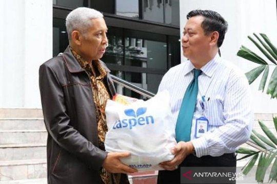 Taspen salurkan bantuan untuk korban banjir pegawai MA