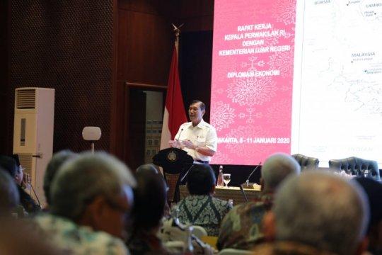 Luhut ingatkan perlunya memupuk perkawanan untuk membangun Indonesia