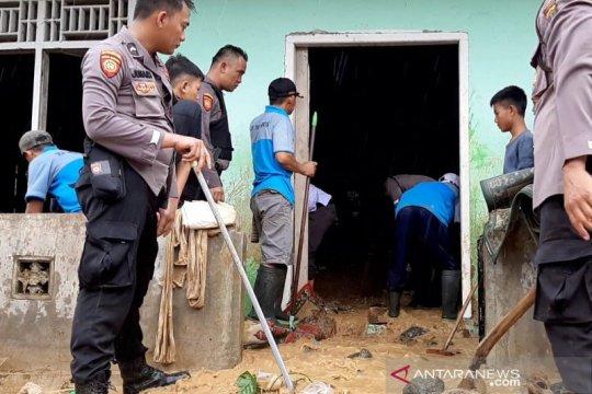 20 Tagana masih bersiaga pascabanjir di Tanggamus