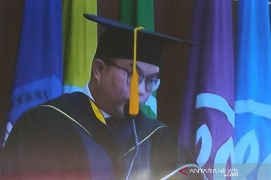 Rektor IPB sampaikan orasi ilmiah  soal ekologi modern dan politik