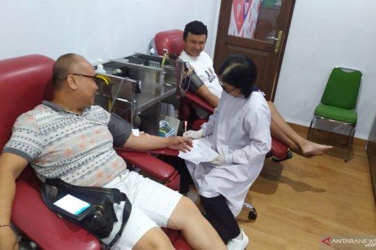 Kantong darah terinfeksi penyakit menular dimusnahkan PMI Bali