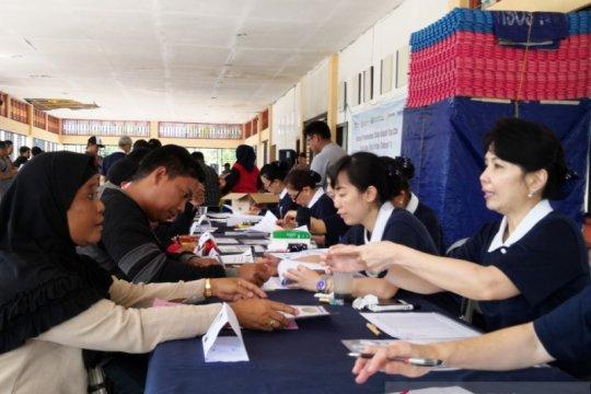 Ratusan huntap bantuan Buddha Tzu Chi untuk bencana Palu diundi