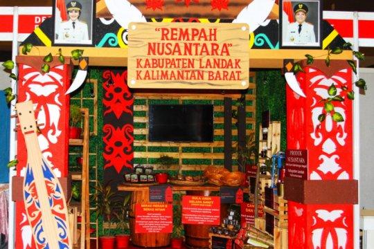 Pemkab Landak tampilkan produk UMKM pada Pameran HUT PDI Perjuangan