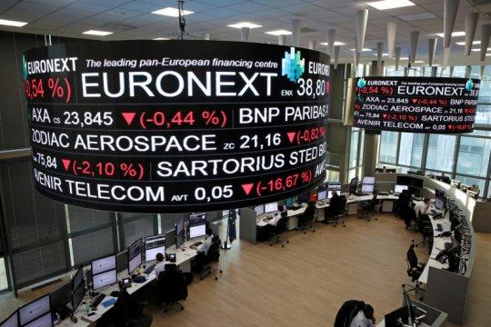 Saham Prancis terus melemah, Indeks CAC 40 merosot 0,65 persen