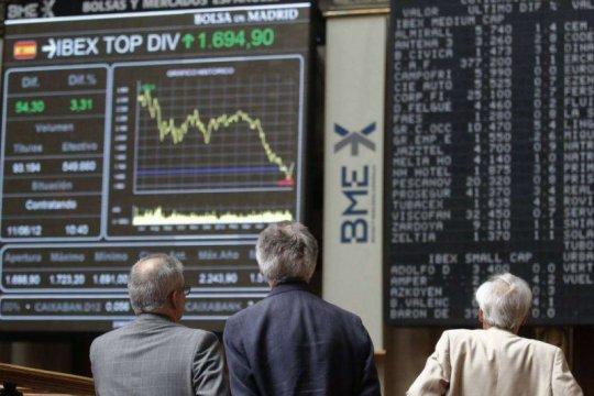 Saham Spanyol berbalik melonjak, indeks IBEX 35 melambung 2,06 persen