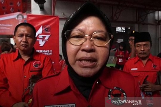 PDIP Surabaya bangga kinerja Risma dapat pujian Megawati