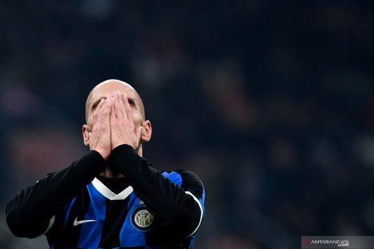 Hasil Liga Italia: Inter tergelincir di kandang sendiri