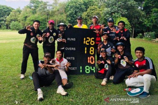 Yadavas Chairos raih dua kemenangan di pembuka Liga Cricket Indonesia