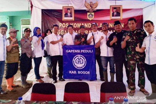 Gapensi siap bantu upaya relokasi korban bencana Sukajaya Bogor