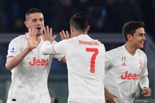 Hasil Liga Italia: Juve kembali geser Inter untuk puncaki klasemen