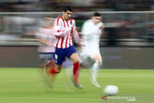 Cedera otot, Morata diragukan tampil perkuat Atletico hadapi Liverpool